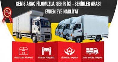 İzmir Evden Eve Taşımacılık